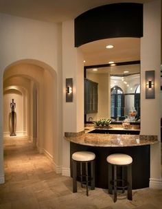 Private Estate Home-Naples Florida - transitional - hall - other metro - by Renée Gaddis Interiors