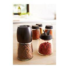 IKEA 365+ IHARDIG スパイス瓶 4 ピースセット