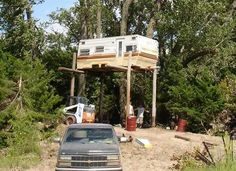 Red Neck Deer Stand!