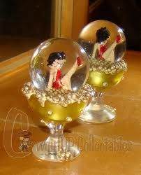 pictures of betty boop snow globes - Google Search