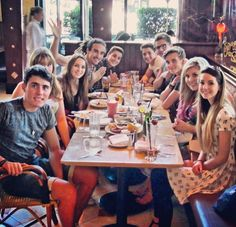 All my favorite youtubers in one picture! :) (And Bethany Mota ! ♡)