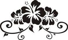 hibiscus flower design tiki - Buscar con Google