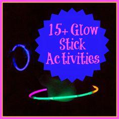 Life with Moore Babies: 15+ Glow Stick Activities for Summer Fun plus HUGE Cash Giveaway