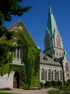 The cathedral in Kristiansand, Norway.