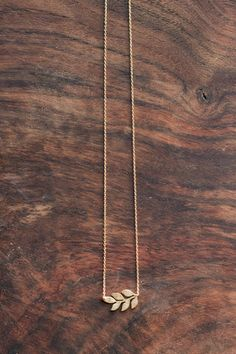 So delicate and pretty - we love this perfect fall statement! Leaf measures 2cm long. All jewelry is final sale.