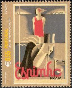 Espinho, selo de Fred Kradolfer (Cartaz 1931)