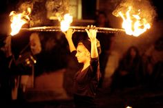 Fire Hoop @ Medieval Festival in Fosdinovo(Italy) - by Damiano Serra 2o11. Tags: Fire Performing * Fire Dance * Fire Hooping * Medieval * Italy