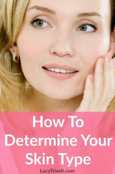 There are several different facial skin types and knowing yours will help you choose your makeup and skincare products wisely! - Education and lifestyle Natural Hair Mask, Natural Skin Care, Beauty Tips For Skin, Skin Care Tips, Beauty Secrets, Beauty Skin, Skin Care Routine For Teens, Beauty Hacks For Teens, How To Grow Eyebrows