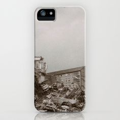 Demolition  iPhone & iPod Case by Anja Hebrank - $35.00  #kiel #germany #deutschland #autumn #urban #urbandecay #decay #abandoned #lost #lostplace #blackandwhite #bnw #demolition #old #vintage #streetphotography #canon #present #decoration #interior #travelling #travelphotography #design #individual #society6 #print #art #artprint #interior #decoration #design #photography #iphone #ipod #cover #case #skin