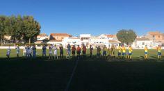 Comienzo partido C. F. La Solana - U. D. La Fuente (30-10-2016)