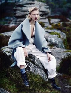 Vogue Russia July 2014 | Juliana Schurig by Emma Tempest [Editorial]