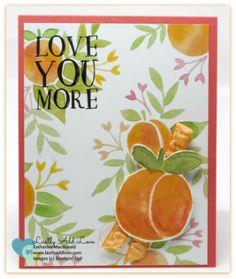 Fresh Fruit, Fruit Stand Designer Series Paper, Stampin' Up!, Katherine Macdonald