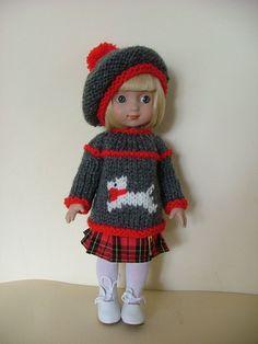 "OOAK ""Little Scottie"" Outfit for 10"" Ann Estelle"