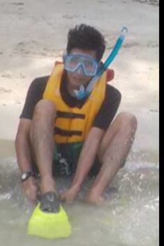 Ready snorkling