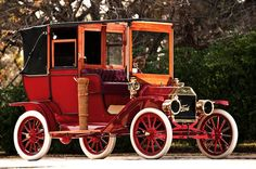 """1908:The Ford Model T was the first affordable car for the middle class. It was the most popular, too. Assembly line production  and interchangeable parts made the car less expensive and easier to repair. The auto industry and all related to it expanded.  Said Ford, """"I will build a car for the great multitude. It will be large enough for the family, but small enough for the individual to run and care for. It will be constructed of the best materials ..."""""""