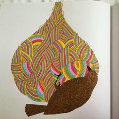 Weaver Bird and Nest - Wild Savannah Book, Millie Marotta