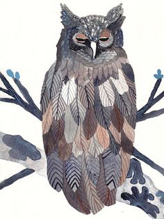 I'm finding lots of grist for the owl-love mill here on pinterest...