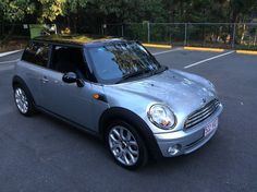 2007 Mini Cooper R56 Chilli Pure Silver/Black Roof Manual 6sp M Hatchback