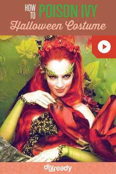 DIY Awesome DIY Poison Ivy costume, check it out at http://diyready.com/diy-poison-ivy-costumeIvy Costume - leaves