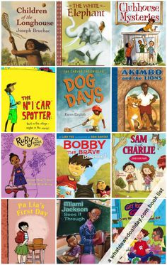 35 wonderful multicultural early chapter books for kids. Love these books with diverse characters! ages 5-10