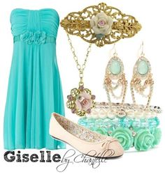 Enchanted - Giselle...I gotta say I love this dress! Just some straps would add perfection to this one!