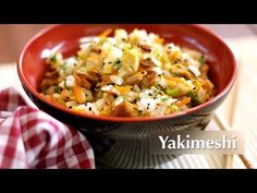 ▶ Receita de Yakimeshi (Vegetariana) - YouTube