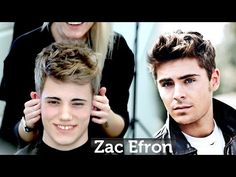 Zac Efron Messy Hair ★ Medium Length Mens Hairstyle ★ Professional Guide - YouTube