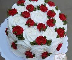 Cake Decorating Frosting, Creative Cake Decorating, Cake Decorating Designs, Cake Decorating Videos, Cake Decorating Techniques, Creative Cakes, Beautiful Birthday Cakes, Beautiful Cakes, Christmas Cake Designs