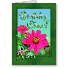 ==>>Big Save on          	Niece Birthday Cheer Zinnias Card           	Niece Birthday Cheer Zinnias Card Yes I can say you are on right site we just collected best shopping store that haveThis Deals          	Niece Birthday Cheer Zinnias Card Here a great deal...Cleck link More >>> http://www.zazzle.com/niece_birthday_cheer_zinnias_card-137542335093833668?rf=238627982471231924&zbar=1&tc=terrest