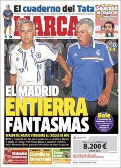 Los Titulares y Portadas de Noticias Destacadas Españolas del 9 de Agosto de 2013 del Diario Marca ¿Que le pareció esta Portada de este Diario Español?