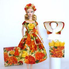 "OOAK Handmade Vintage Barbie/Silkstone Fashion by Roxy- ""AUTUMN"" (12 Pcs) | eBay"