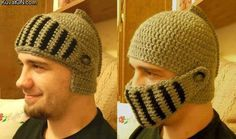 helmet hat~can't find a pattern right now. Connected address wasn't helpful. Think I could try to make one by looking at the photos.
