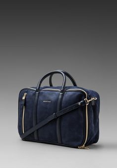 SEE BY CHLOE Harriet 24 Hour Bag in Midnight at Revolve Clothing - Free Shipping!