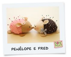 Ei Menina!: Penelope and Fred...too cute!