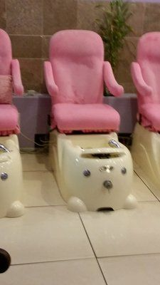 child pedicure chair vintage barber kid spa chairs i don t think so but maybe cute in mini for kids yelp
