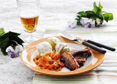 "Fried pork bellies & Parsley Sauce - Old ""Grandma recipe"" from Denmark"