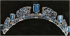 Aquamarine tiara of Anne, Princess Royal of Great Britain
