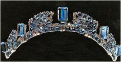 Aquamarine tiara of Anne, Princess Royal of Great Britain