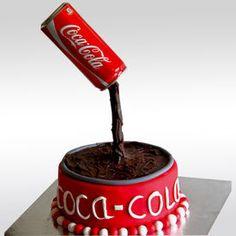Coca Cola Theme Cake