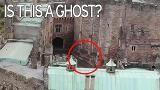 Ghost riding through castle