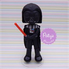 Miniatura Darth Vader - Festa Star Wars - Paty's Biscuit