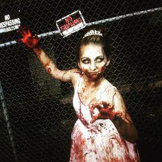 the walking dead halloween costume zombie ballerina girl makeup - Dead Ballerina Halloween Costume