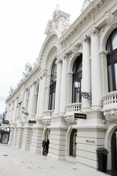 Chanel in Monaco ~ Colette Le Mason @}-,-;---