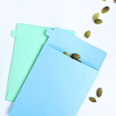 Diy Stationery: Tear-away Seed Envelopes