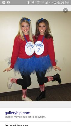 Tayler and I r gonna dress up like this for halloween!