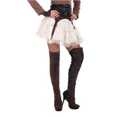 Steampunk Thigh High Boot Toppers - FM-66211 by Medieval Collectibles