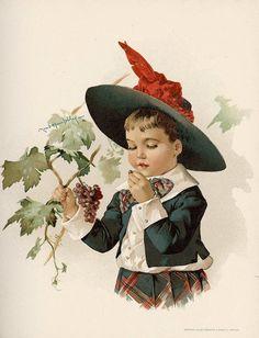 Illustration by Maud Humphrey by sofi01, via Flickr