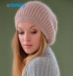 Шапка «Mist» из мохера от Kim Hargreaves, вязаная спицами / Шапочки, которые особенно модны в этом сезоне, порой поразительно напоминают собой другие шапки, которые были в моде в прошлом веке, где-то в 60-х годах. Те, которые предложены в данном случае,[...]