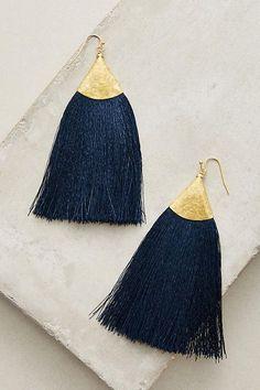 Fringe Tassel Earrings ~ETS #fringe