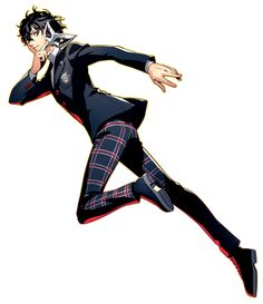 View an image titled 'Protagonist Art' in our Persona 5 Royal art gallery featuring official character designs, concept art, and promo pictures. Game Character, Character Design, Persona 5 Joker, Persona 5 Cosplay, Boys Anime, Ren Amamiya, Princesa Peach, Akira Kurusu, Royal Art